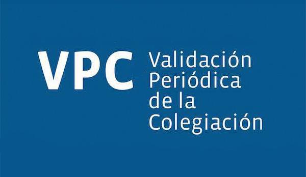 Validación Periódica de la Colegiación Medicos de la Rioja