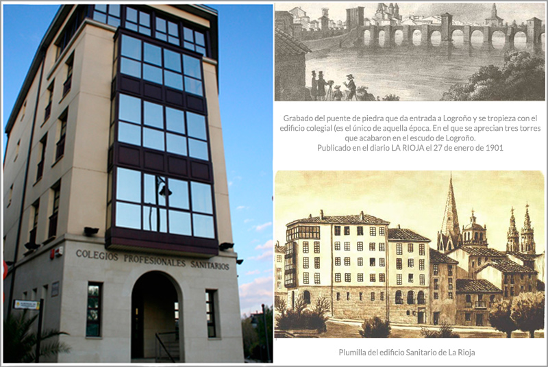 historia colegio Oficial de Médicos de La Rioja