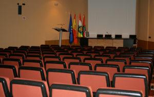 salon de actos del Colefio Oficial de Médicos de La Rioja