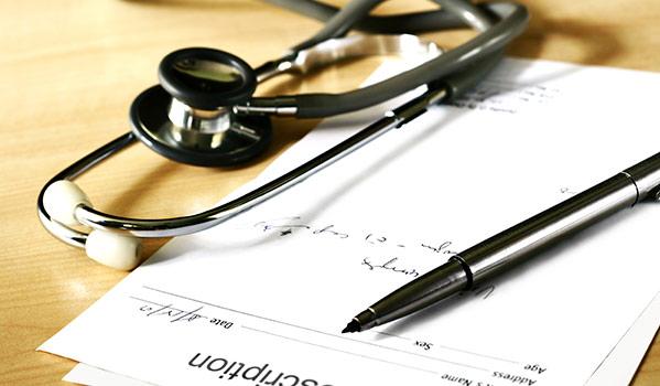 Solicitud de receta médica privada del Colegio Oficial de Médicos de La Rioja