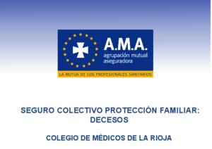 Seguro decesos AMA Colegio Médicos La Rioja