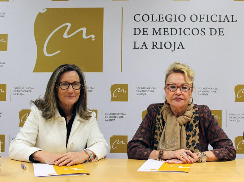 acuerdo AECC Colegio Médicos La RIoja